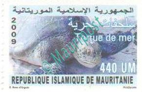 Timbre Mauripost : tortues